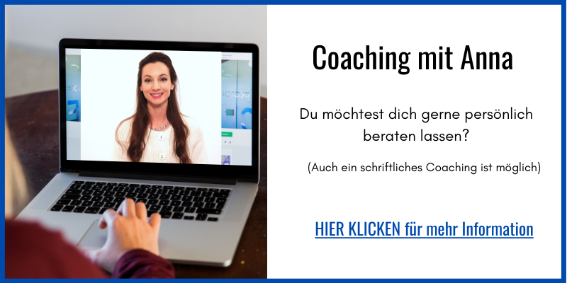 Dr. Anna N. Kluger Coaching